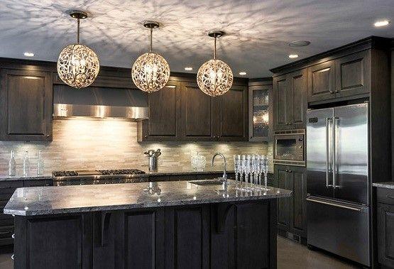 dekoratīvais apgaismojums virtuvē