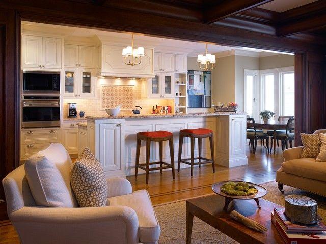 Virtuve apvienota ar dzīvojamo istabu