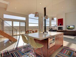 Paklājs virtuvē
